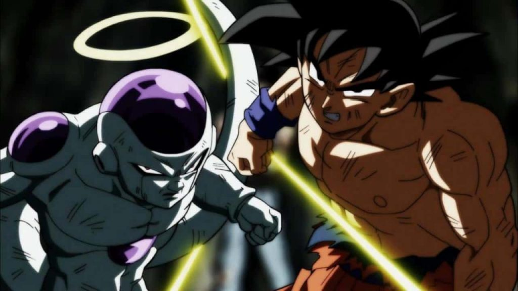 Dragon Ball Super Goku Et Freezer