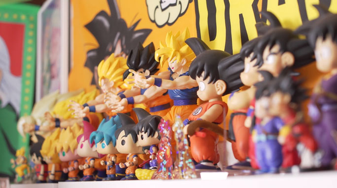 Dragon Ball Z Merch Collection